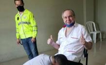Abdalá Bucaram: colocación del grillete electrónico
