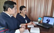 Testigos de Jehová en asamblea virtual