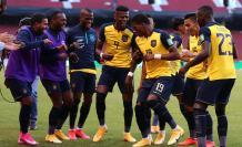 Ecuador goleada Uruguay