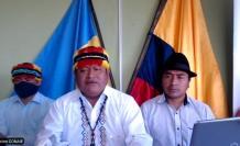 Conaie- Bolivia- Arauz