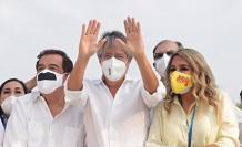 Guillermo Lasso en campaña electoral