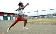 Liuba Zaldívar salto triple Ecuador