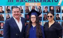 Graduación de Ana Victoria Navarro.