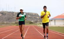 Paola Bonilla Daniel Pintado atletismo Ecuador