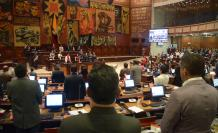 Sesion del Pleno de la Asamblea Nacional