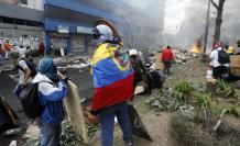 paro nacional ecuador manifestaciones quito