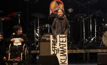 Greta Thunberg marcha por el clima