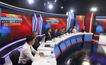 Debate presidencial en El Comercio