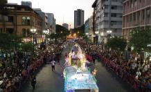 desfile guayaquil luces led