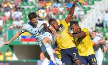 Partido amistoso entre Ecuador y Argentina