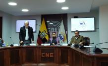 Pleno del CNE