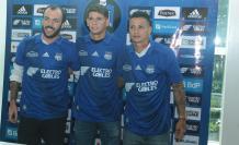 Sebastián Rodríguez, Facundo Barceló y Alex Zapata.