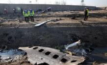 avión ucraniano estrellado en irán