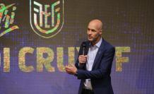 Jordi Cruyff, en su nombramiento como técnico de Ecuador.