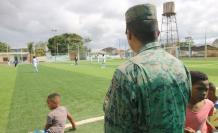 Escuela de fútbol en San Lorenzo