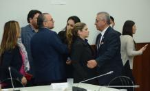 Asambleísta Colamarco con el asambleísta Fernando Flores