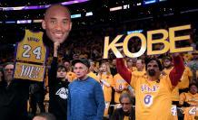 Kobe Bryant homenaje