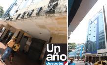 Edificios daños del terremoto 2016