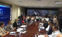 Autoridades locales y nacionales se reunieron ayer para hacer la rendición de cuentas del Plan Más Seguridad.