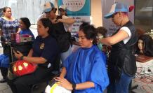 Donación de cabello.