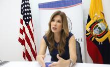 Luisa f. Amador, presidenta de la Cámara Ecuatoriano Americana