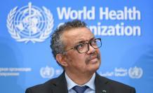 Tedros Adhanom Ghebreyesus, director general de la OMS. Febrero 2020. AFP