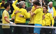 Ecuador Copa Davis al Grupo Mundial