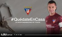 Liga de Quito - Quédate en casa