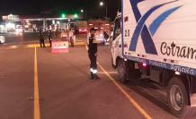 Control a camiones de carga