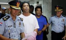 Ronaldinho prisión Paraguay