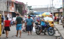 gente en calle