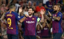Messi, Suárez y Vidal - FC Barcelona