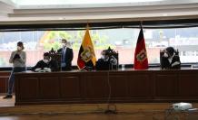 Corte Nacional. Sentencia en caso Sobornos, martes 7 de abril. Foto: Cortesía.