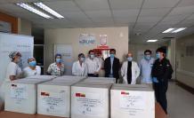 empresa china entrega mascarillas