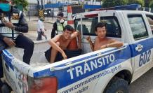 AGENTES AGREDIDOS EN GUAYAS