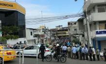 los ciudadanos inclumplen las normas en Santa Elena