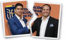 Jaime Estrada y Francisco Egas