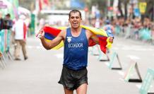 Claudio Villanueva marcha ciclismo Tokio 2020