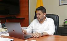 El ministro de transporte, Gabriel Martínez