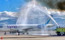 Avión de Tame. La empresa pública será liquidada