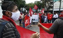 maestros protestan