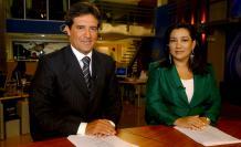 Carlos Luis Morales y Tania Tinoco.