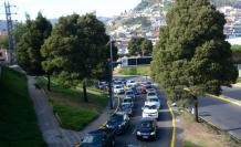 movilización en Quito