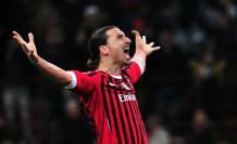 Zlatan Ibrahimovic Milan Italia lesión