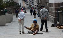 En las calles de Quito hay un incremento de mendicidad