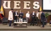 doctores de la mesa técnica de Guayaquil del covid-19