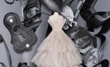 Vestido de la casa Dior