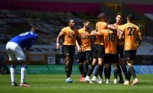 Wolverhampton+Fútbol+Campana+Inglaterra