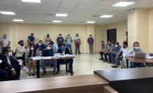 La diligencia se efectuó en la Unidad Judicial, ubicada en el Cuartel Modelo de la Policía, al norte de Guayaquil.
