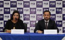 En la diligencia participaron la fiscal encargada Ruth Palacios y el titular de la Secretaría Anticorrupción, Iván Granda.